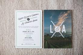 Winery Wedding Invitations Vibrant Winery Wedding In California Ruffled