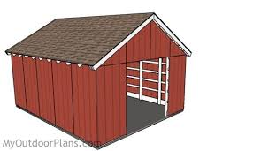 Free Barn Plans Free Pole Barn Plans Myoutdoorplans Free Woodworking Plans And