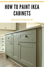 ikea grey green kitchen cabinets painting ikea cabinets s homestead