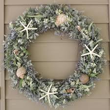 wreath coastal wreath sea shell wreath grapevine wreath
