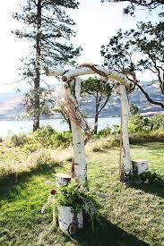 wedding arch log best 25 wood wedding arches ideas on rustic wedding