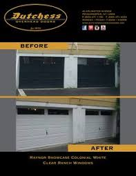 Dutchess Overhead Door Dutchess Overhead Doors Inc Check Out Our Website Www