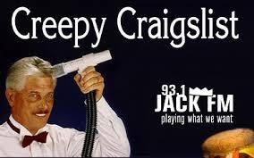 creepy craigslist gently used hamburger bed for sale 93 1 jack fm