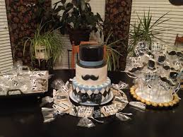 little man top hat and bow tie baby shower april wallace cakes