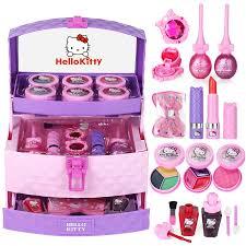 Makeup Box hello suit makeup kid s cosmetics princess