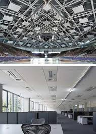 Sound Absorbing Ceiling Panels by Fiberglass Acoustic Ceiling Panels Products T Tectonica Online