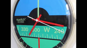 photoshoot swatch nautilus maxi 1987 83 inch wall clock large