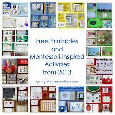 printable montessori curriculum montessori monday free printables and montessori inspired