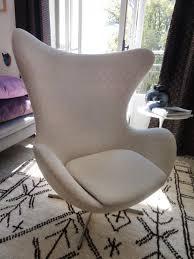 mid century danish egg chair by arne jacobsen for fritz hansen for