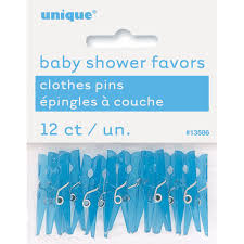 clothespin baby shower mini plastic blue clothespin baby shower favors boy baby shower