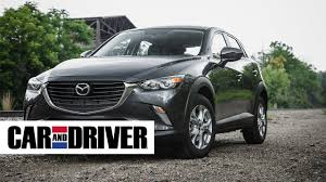 mazda car and driver mazda cx 3 review in 60 seconds car and driver youtube