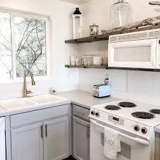 farmhouse kitchen with oak cabinets kitchen transformation honey be farm