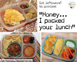 leftovers are an easy way to pack lunches for work up your