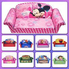 sofa chair kids furniture minnies bed soft plush foam toddler