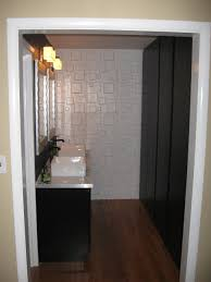 furniture delightful small bathroom decoration using black brown