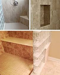 Walk In Shower With Bench Seat Glass Block Shower Wall U0026 Walk In Designs Nationwide Supply