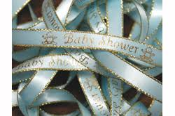 personalized ribbon for baby shower 15 00 per roll of baby shower preprinted ribbon