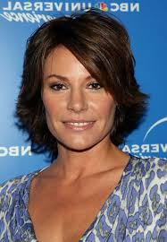 razor cut hairstyles short hair newhairstylesformen2014 com luann de lesseps short layered razor hairstyle with bangs for thick