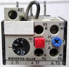 siemens allis olr0630csi1 overload relay 4 6 3 amp 1 no 1 nc aux