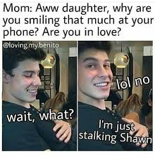 I Love My Boyfriend Meme - shawn mendes bish what yes i m in love in love with shawn me