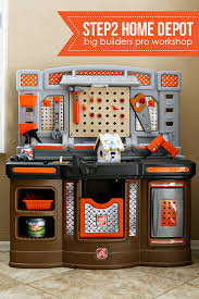 Kids Tool Bench Home Depot Review Step2 Home Depot Big Builders Pro Workshop See Vanessa Craft