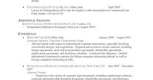 Corporate Attorney Resume Sample commercial law attorney resume