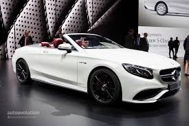 convertible mercedes 2015 mercedes benz s class cabriolet and s63 cabriolet are the open top