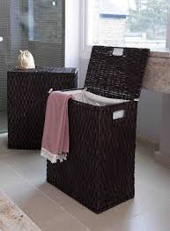 wooden laundry hamper with lid decorating interesting laundry hamper with white flooring and
