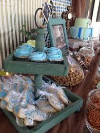 Centerpieces For Boy Baptism by Baptism Boy Baptism Boy Party Decorations Christening