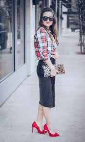 festive sequins and plaid houston fashion blog the styled fox