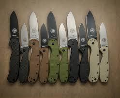 Esee Kitchen Knives A Smorgasbord Of Esee Avispa And Zancudo Folding Knives Including