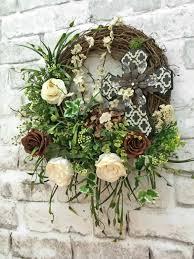 front doors print silk floral wreaths front door 111 silk floral