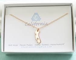 sted necklaces moving gift california necklace open heart state of