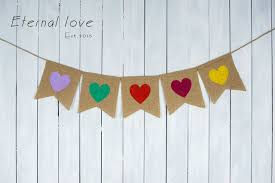 Rustic Valentines Day Decor aliexpress com buy valentine u0027s day banner valentine u0027s day decor