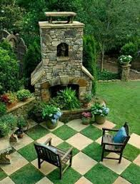 Beautiful Garden Design Optical Illusions Balancing Yard - Backyard designs images