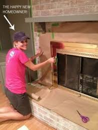 How To Clean Fireplace Bricks With Vinegar by How To Wash Old Brick Brick Fireplace Bricks And Cleaning