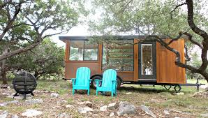tiny house in hill country