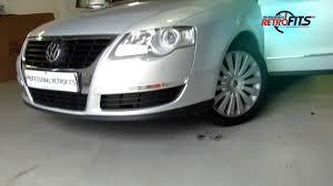 volkswagen passat rear vw passat b6 ops front and rear retrofit youtube