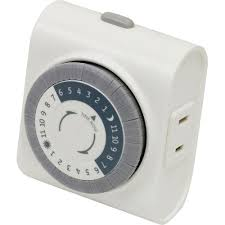 how to set an outdoor light timer furniture plug timers dimmers switches outlets the home depot how