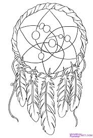 113 best dream catcher coloring pages images on pinterest