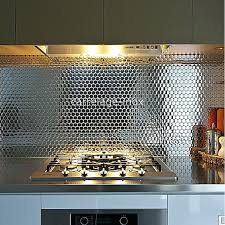 mosaique cuisine credence credence cuisine inox mirrored mosaic tile a lovely cuisine amenagee
