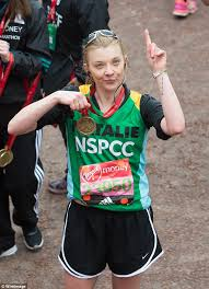Pics Of Natalie Dormer Natalie Dormer Reigns Triumphant Among Celebrity London Marathon