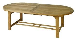 chunky teak table u2013 extending 1 8 2 4 metre