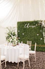 wedding backdrop greenery wedding decor obsession alert boxwood hedge walls brides