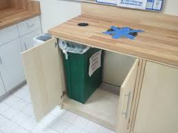 Kitchen Garbage Cabinet Kitchen Recycling Bins For Cabinets