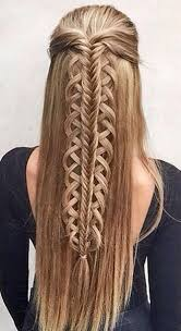 braided hairstyles with hair down braids for spring 2018 nail art styling