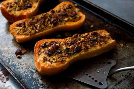 vegetarian thanksgiving baked squash the new york times