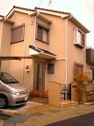 Japanese House Design by Modern Japanese Houses With Modern Terraced House With Pink
