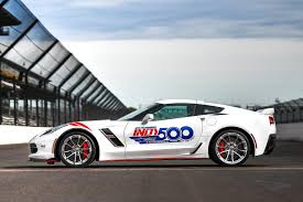 101st indianapolis 500 will be paced by 2017 chevrolet corvette