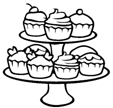 surprising birthday cupcake coloring pages printable with cupcake